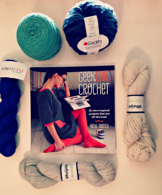 book and special yarn