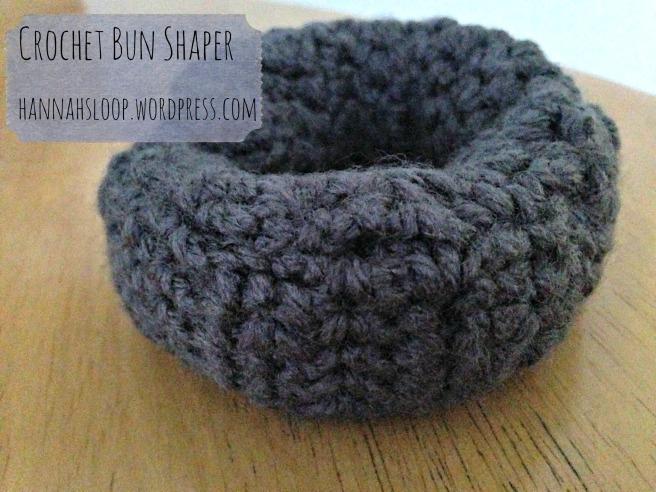Crochet Bun Shaper