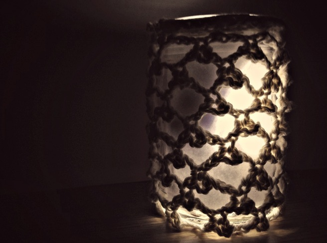 Mason Jar Candle Cozy