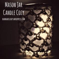 Mason Jar Candle Cozy