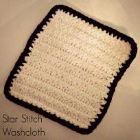 Star stitch square