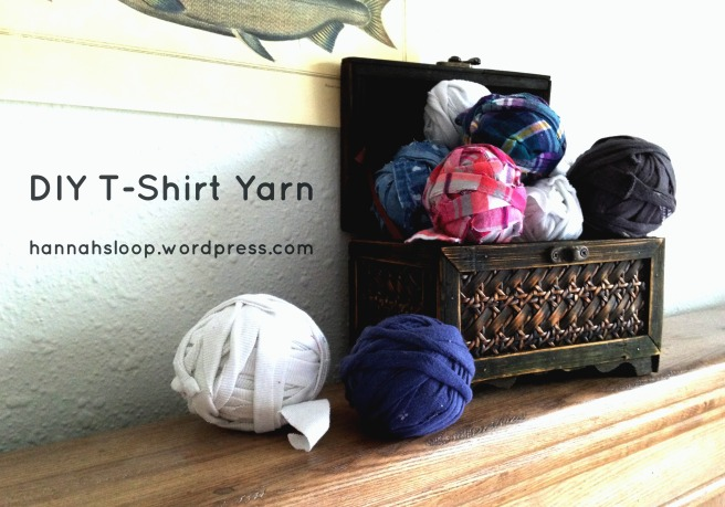 DIY T-Shirt Yarn
