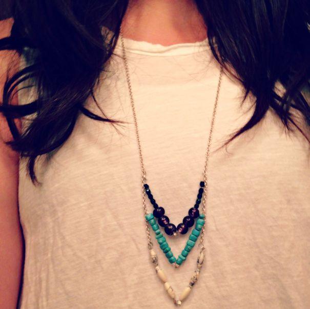 Finished necklace